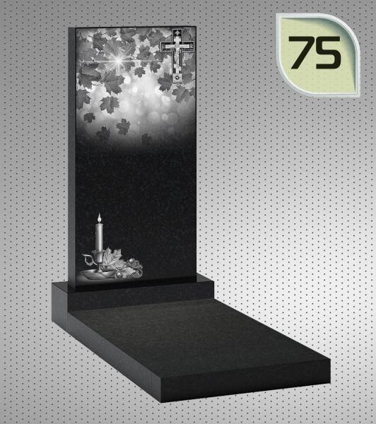 Вертикальный памятник ПГП 75